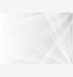 abstract white and gray geometric shine and layer vector image