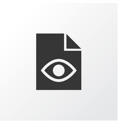 Hidden icon symbol premium quality isolated view vector