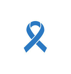 Hiv ribbon related glyph icon vector