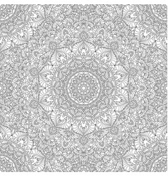 seamless pattern black white for coloring vector image