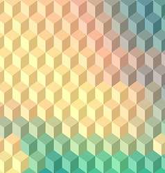 Technology cube background vector