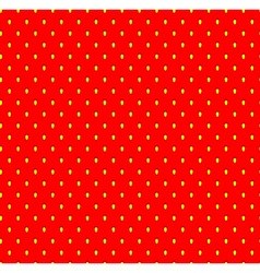 Strawberry seamless pattern with seeds Fruit vector image vector image