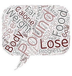 Free tips to help you lose 10 pounds text vector