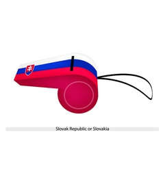 A Whistle of The Republic of Korea vector image