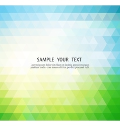 Abstract color banner vector