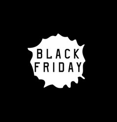 black friday sale holiday concept vector image