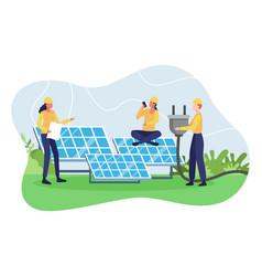 Concept renewable energy vector