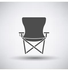 Fishing Chair Icon vector