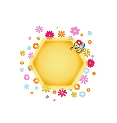 Honeycomb Element vector image