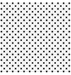 square black empty and filled squares the grid of vector image
