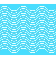 Water wave seamless background vector