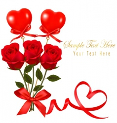 card with valentine background2 copy vector image