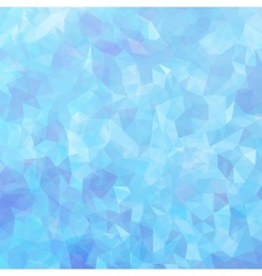 Blue Mosaic Background vector image vector image