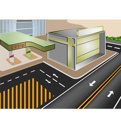 Petrol vector image vector image