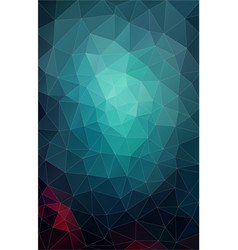 Vertical flat pastel color geometric triangle vector