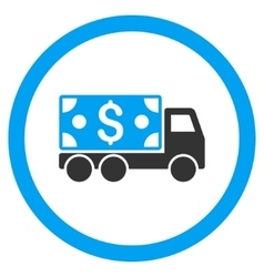 Cash Delivery Rounded Icon vector image