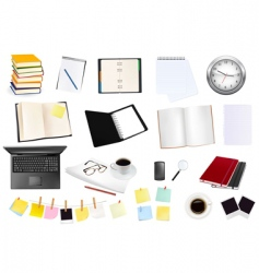 Collection business elements copy vector