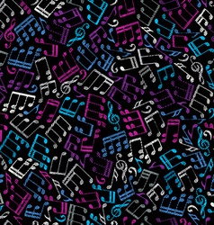 Decorative colorful seamless pattern striped vector