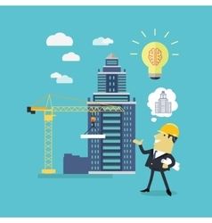 Implementation Ideas Architect vector image vector image