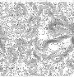 seamless pattern topographic map background with vector image