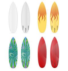surfboard stock vector image