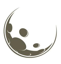 Symbol moon vector