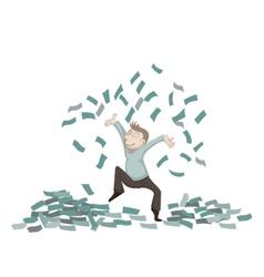 Throw money1 vector