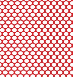 White dots on a red vector