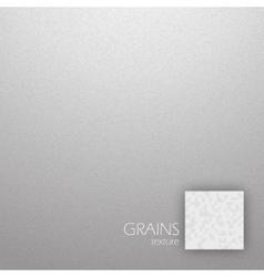 Grains texture vector image