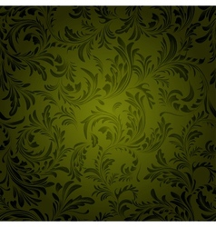 Vintage seamless pattern of weaving plants vector image