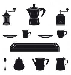 Italian coffee vector image