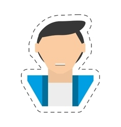 People casual man icon image vector