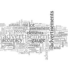 Advertisement how effective is it vector