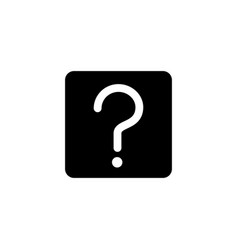 Ask quesetion icon vector