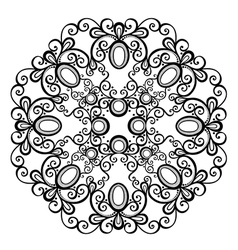 Beautiful Deco Mandala vector image