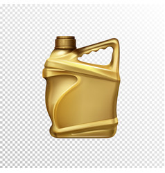 Car lubricant bottle 3d realistic template vector