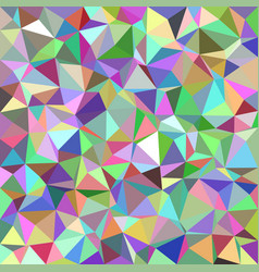 Colorful abstract triangle tile mosaic pattern vector