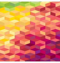 Colourful rhombic background for prints web vector