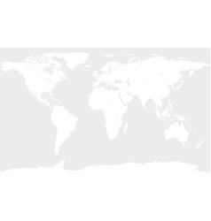 Contour white map vector