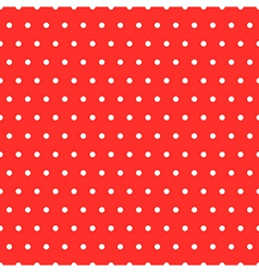 Dots Red Pattern vector image