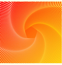 five-pointed figure a whirlwind a spiral of vector image