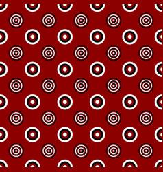 Geometrical circle pattern design background vector