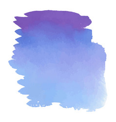 purple watercolor hand drawn gradient banner vector image
