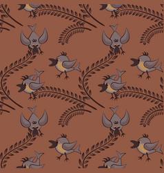 Seamless pattern pattern children vector