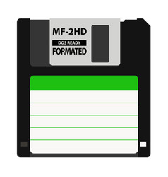 The floppy disk in the 35-inch is used in older vector