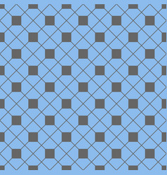 Tile pattern with grey and blue background vector