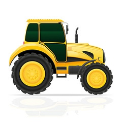 tractor 01 vector image