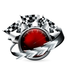 Rally Emblem vector image vector image
