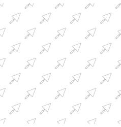Trowel pattern seamless vector