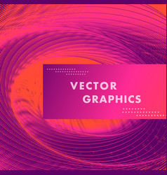 Abstract circles lines pattern design vector